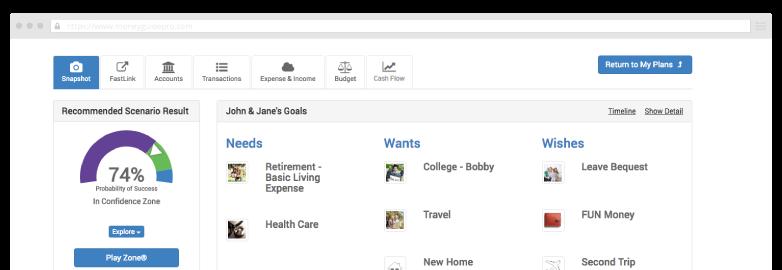 Planning Portal Screen