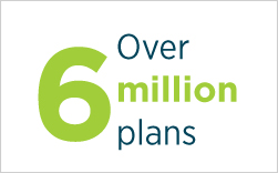 Over 6 million plans