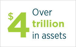 Over $4 trillion in assets